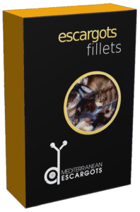 Smoked Snail fillets in vacuum